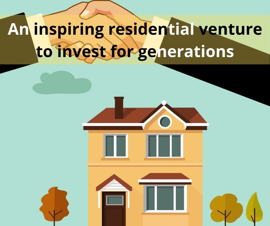 An inspiring residential venture to invest for generations
