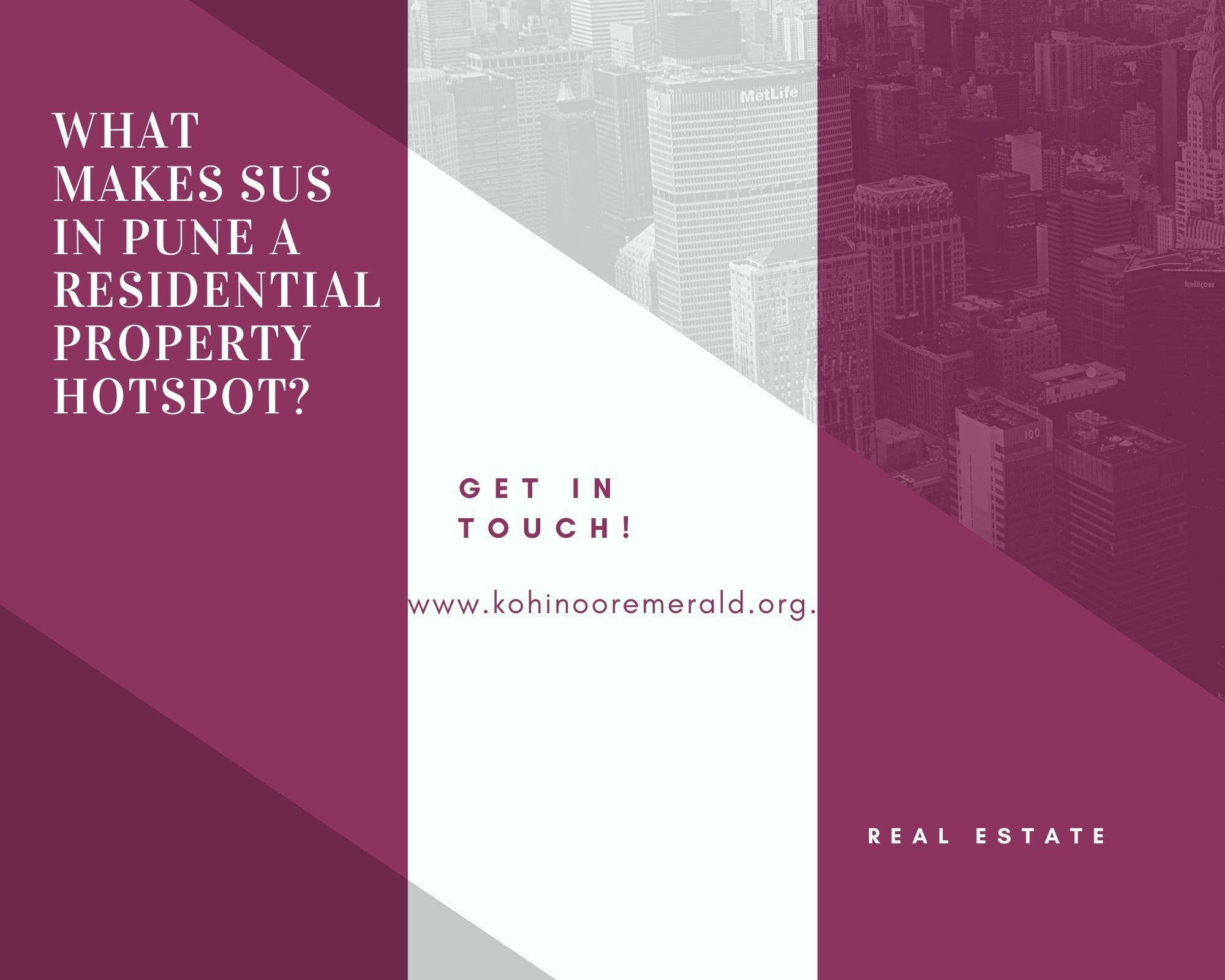 What makes Sus in Pune a residential property hotspot?