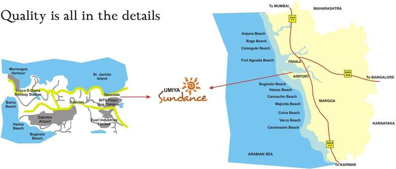 Umiya Sundance Location Map