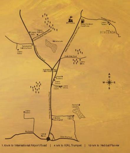 Legacy Vivienda Location Map