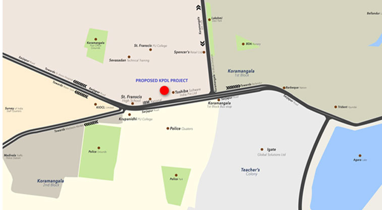 Kolte Patil Illiquis Location Map