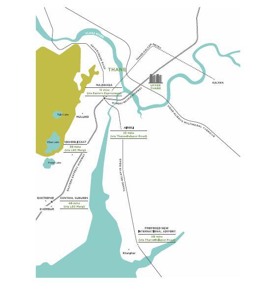 Lodha Codename Super Deal Location Map