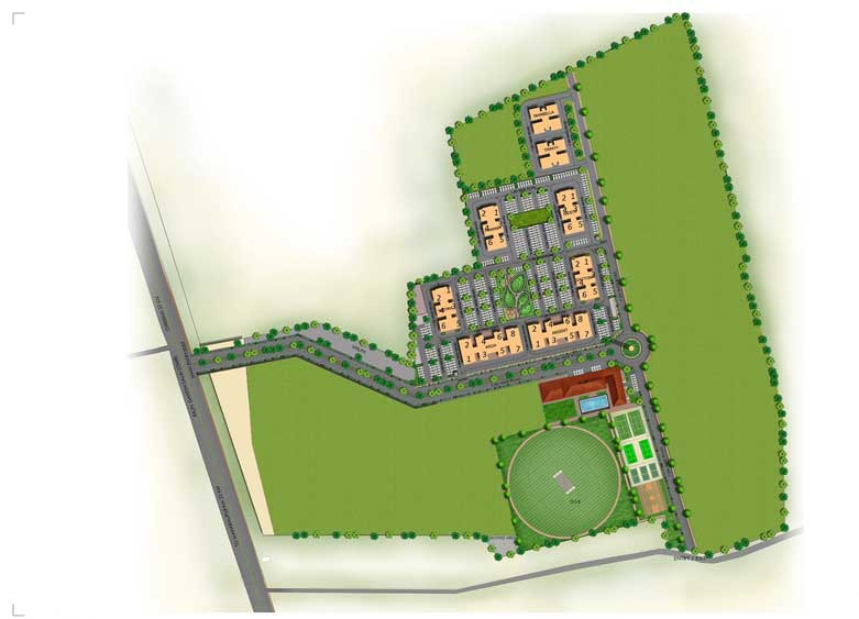 PBEL City Chennai Site Map