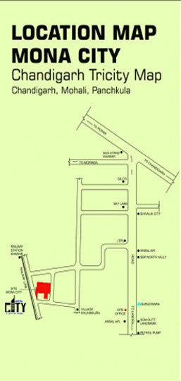 Mona City Homes Location Map