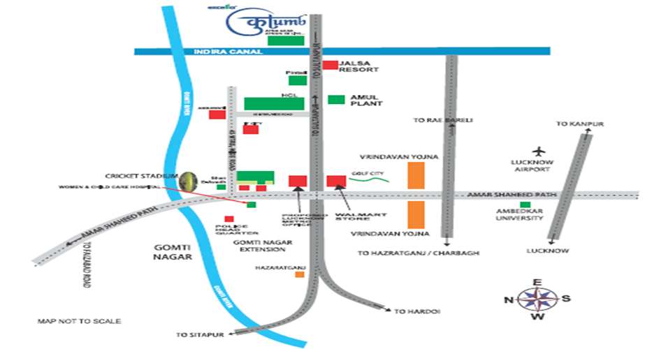Excella Kutumb Location Map