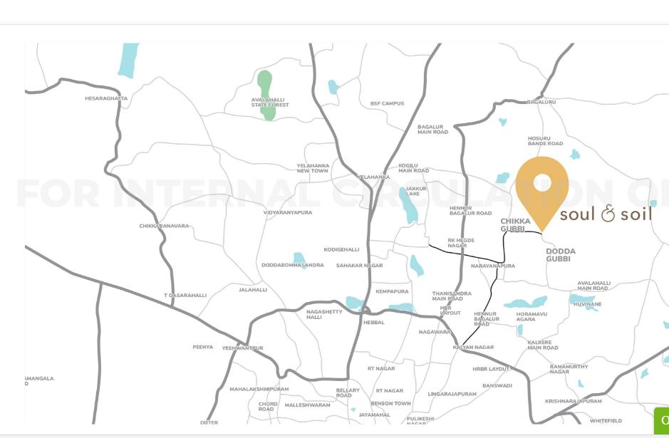 Assetz Soul & Soil Location Map